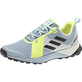 adidas TERREX Two Chaussures Femme, ash grey/core black/hi-res yellow